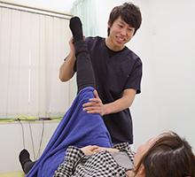 膝に対する施術写真